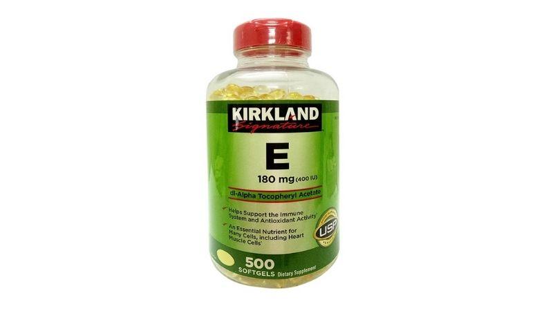 Vitamin E Kirkland 400 IU của Mỹ