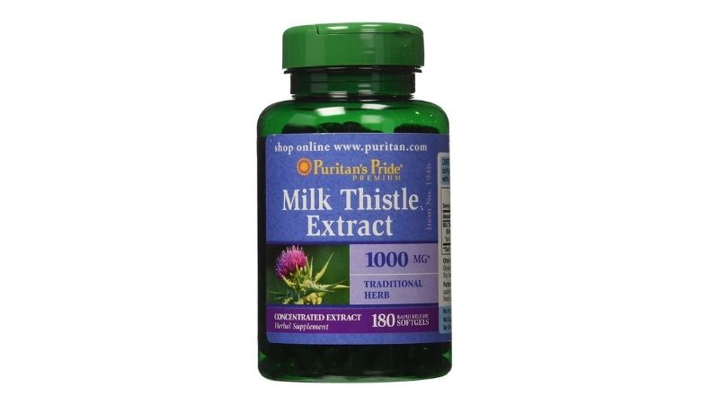 Viên uống Milk Thistle Extract 1000mg Puritan's Pride