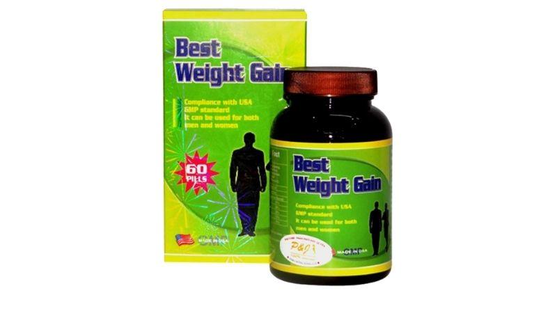 Sản phẩm hỗ trợ tăng cân Best Weight Gain