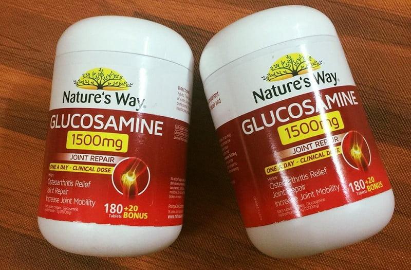 Thực phẩm chức năng của Úc cho người già Nature's Way Glucosamine 1500mg
