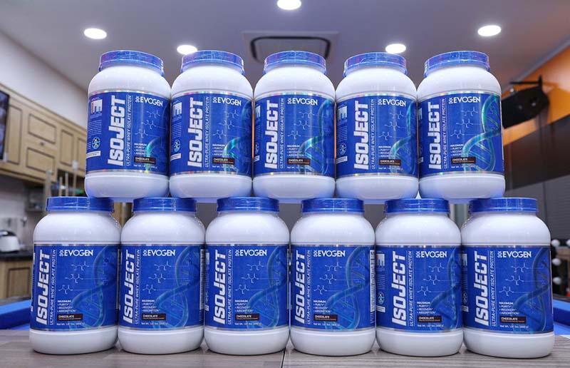 Thực phẩm chức năng tập gym ISOJECT Premium EVOGEN