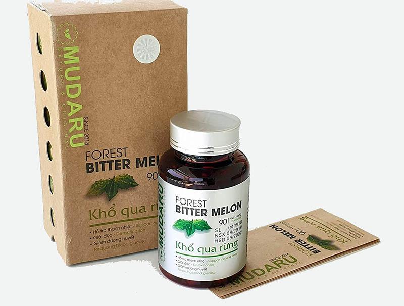 Thực phẩm chức năng tiểu đường Khổ qua rừng Mudaru