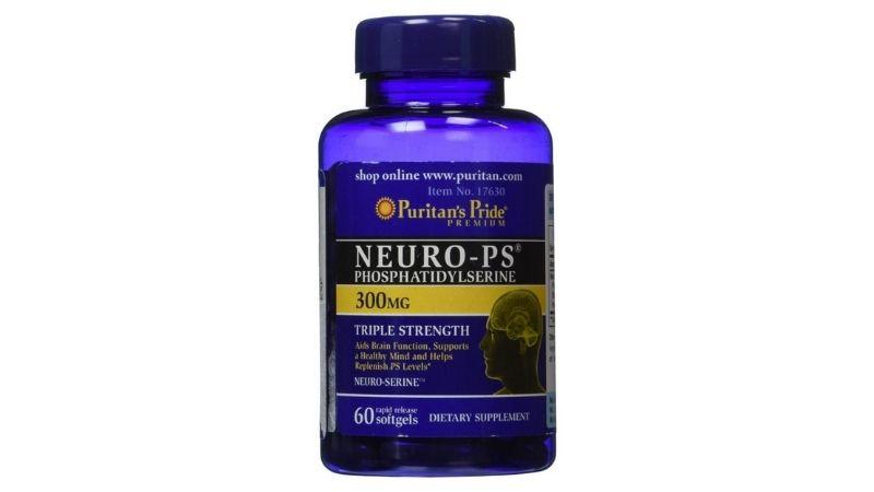 Neuro-Ps Phosphatidylserine cải thiện trí nhớ và sự tập trung