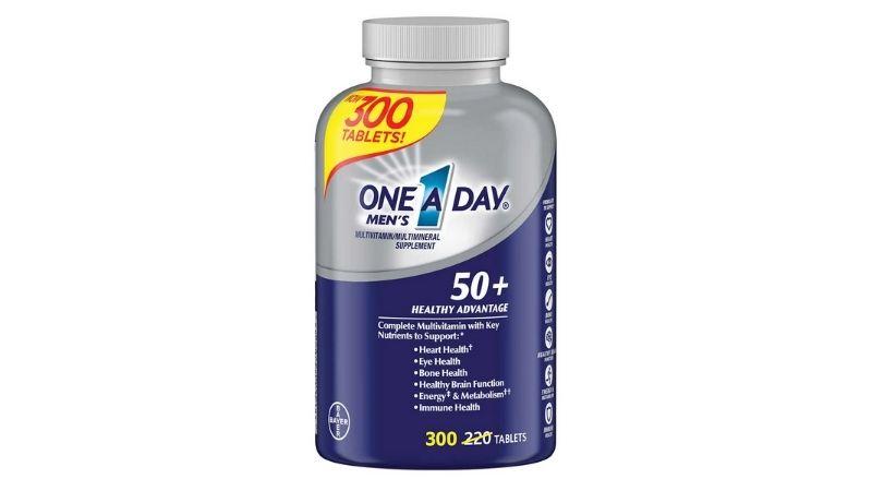 Vitamin E One A Day Men's 50+ Healthy Advantage - Thực phẩm chức năng tốt cho người trung niên