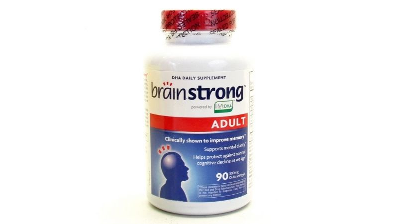Viên uống bổ não BrainStrong Adult DHA 300mg