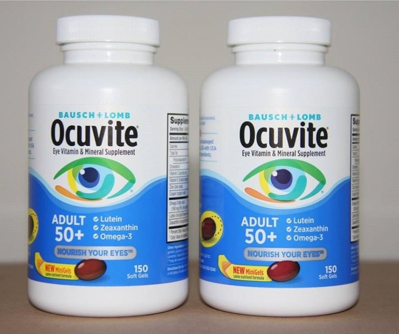 Hình ảnh sản phẩm viên uống bổ mắt Ocuvite