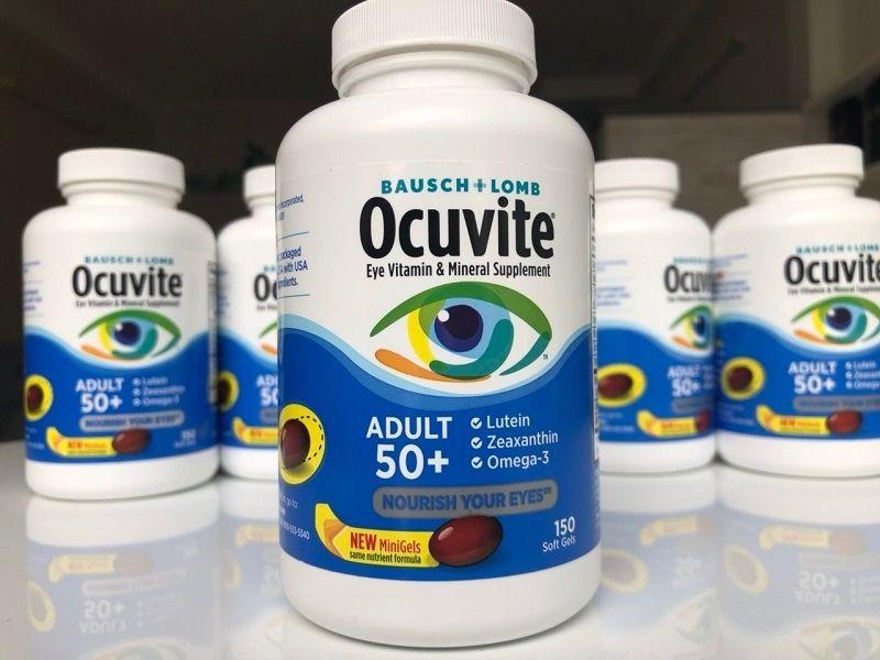 Sản phẩm dành cho người trên 50 tuổi có vấn đề về mắt