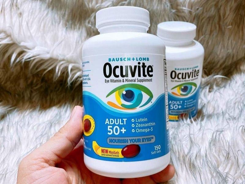 Uống đúng liều lượng để thuốc bổ mắt Ocuvite Lutein phát huy công dụng tối đa