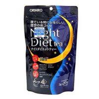 Trà Night Diet Tea của Nhật hỗ trợ giảm cân hiệu quả