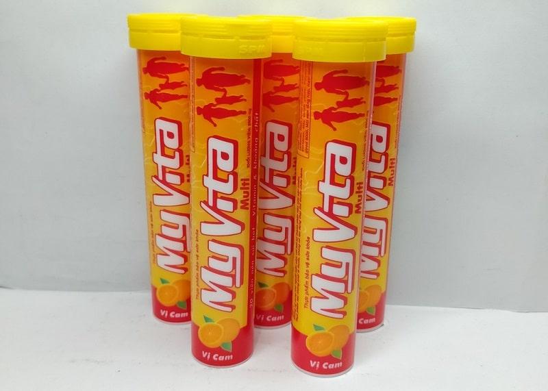 Myvita Multivitamin vị cam