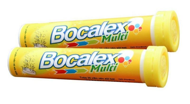 Viên sủi bổ sung vitamin Bocalex Multi