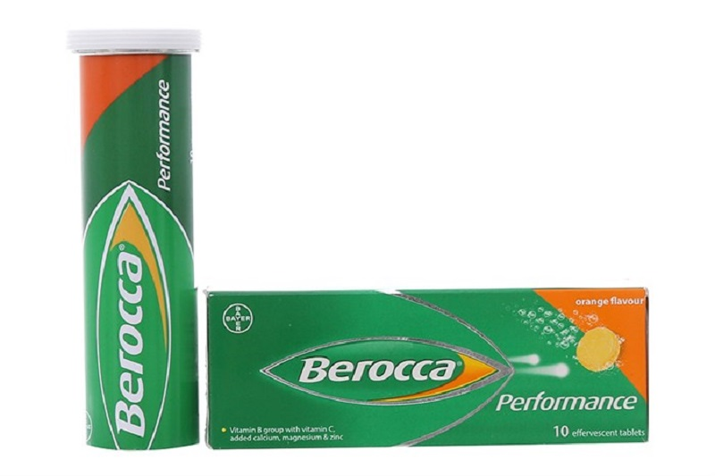 Berocca Performance chứa nhiều vitamin tổng hợp