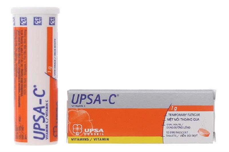 Upsa - Viên sủi điều trị thiếu Vitamin C