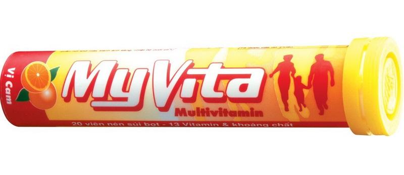 Viên sủi bổ sung Vitamin C Myvita Multivitamin