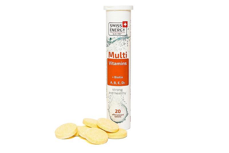 Mutivitamins + Biotin Swiss Energy