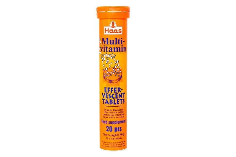 Multi-Vitamin Effer-Vescent Tablets Haas