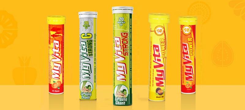 Vitamin Myvita - viên sủi vitamin tổng hợp