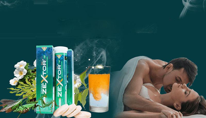 Uống Zextor đều đặn để tăng cường sức khỏe, duy trì phong độ phái mạnh