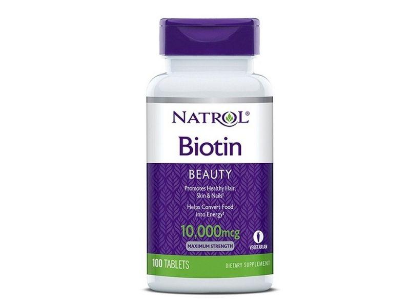 Viên uống natrol biotin 10000 mcg