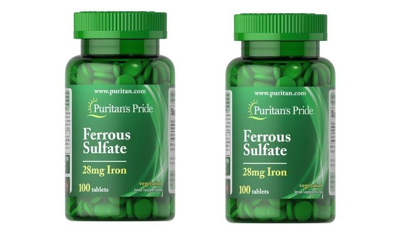 Iron Ferrous Sulfate là viên uống bổ máu được đánh giá cao trên thị trường