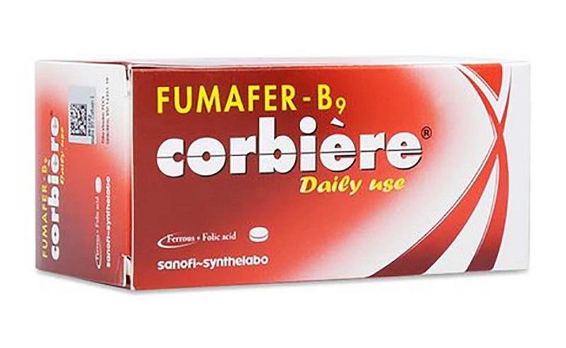 Fumafer-b9 corbière - viên uống bổ máu