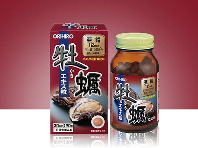 Orihiro bổ sung kẽm từ hàu tươi