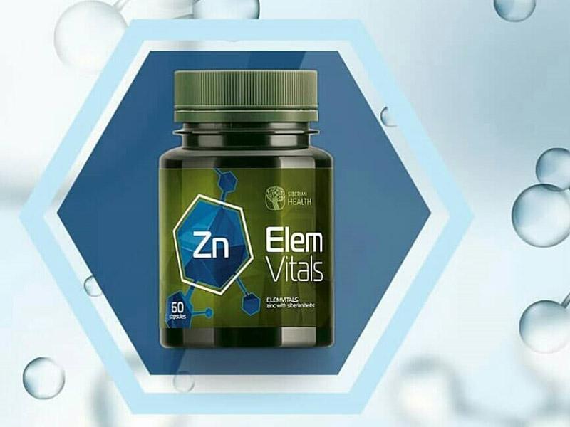 Elemvitals Zinc with Siberian herbs