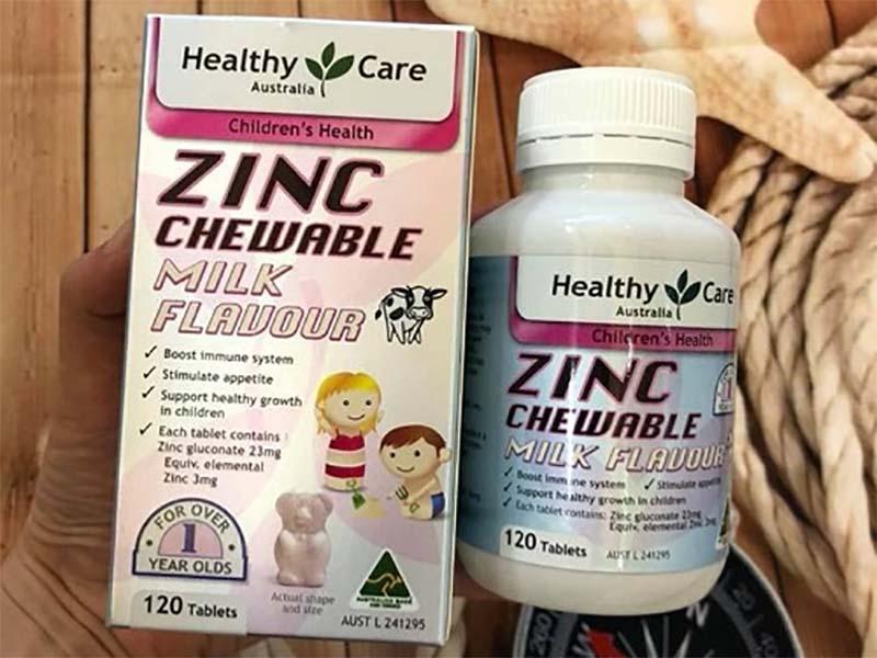 Viên uống bổ sung kẽm cho trẻ nhỏ Healthy Care ZinC