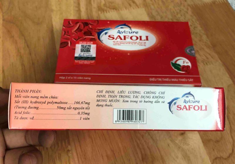 Avisure Safoli hiện bán rộng rãi tại các nhà thuốc