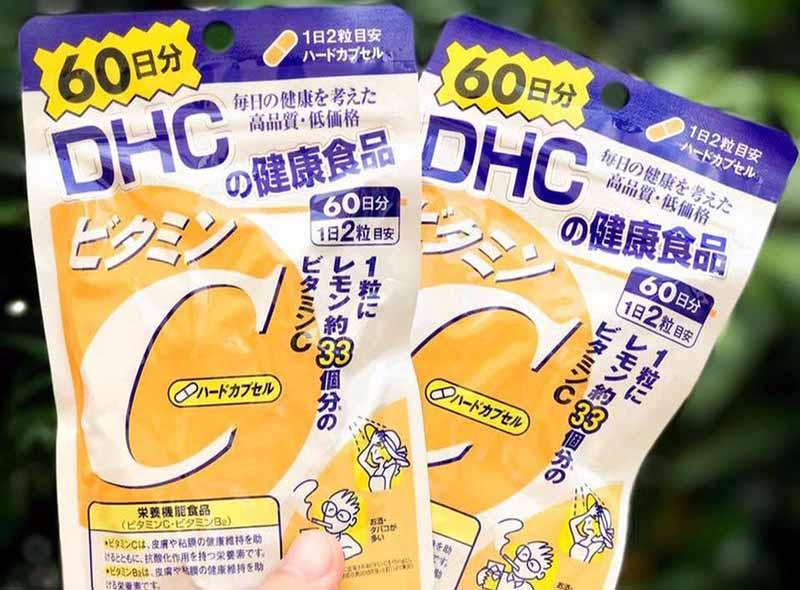 Vitamin C DHC từ Nhật Bản
