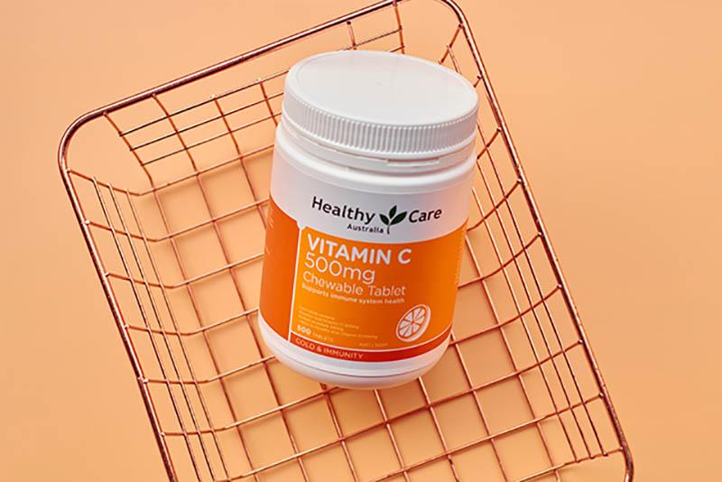 Healthy Care Vitamin C 500mg xuất xứ từ Úc