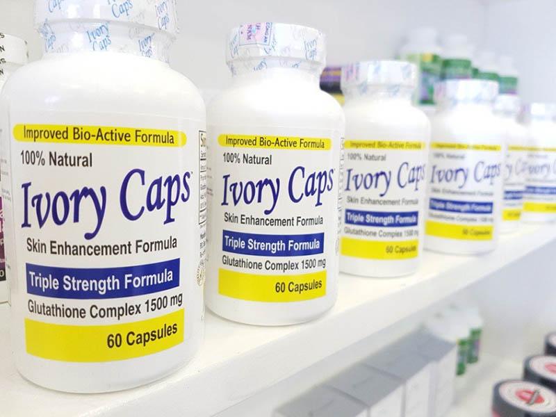 Ivory Caps Vitamin C Plus được nghiên cứu và sản xuất tập trung vào hiệu quả làm trắng da của vitamin C
