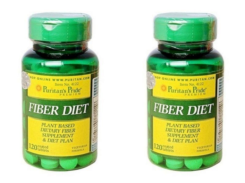 Puritan's Pride Fiber Diet là viên uống bổ sung chất xơ hiệu quả