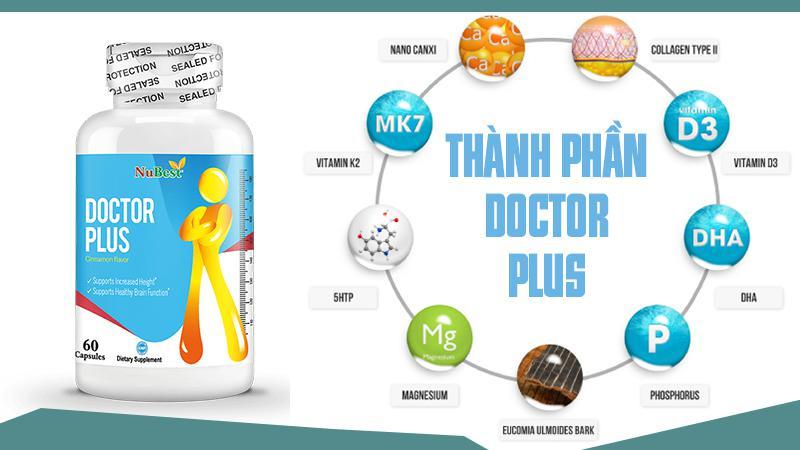 Viên uống Doctor Plus phù hợp với trẻ trên 10 tuổi