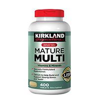 Viên uống Kirkland Mature Multi Mỹ cho người trên 50 tuổi hộp 400 viên