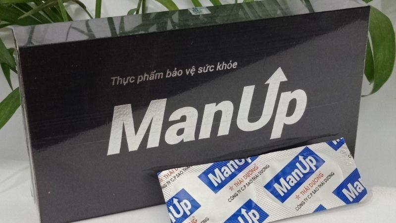 Viên uống ManUp dùng cho đối tượng nào