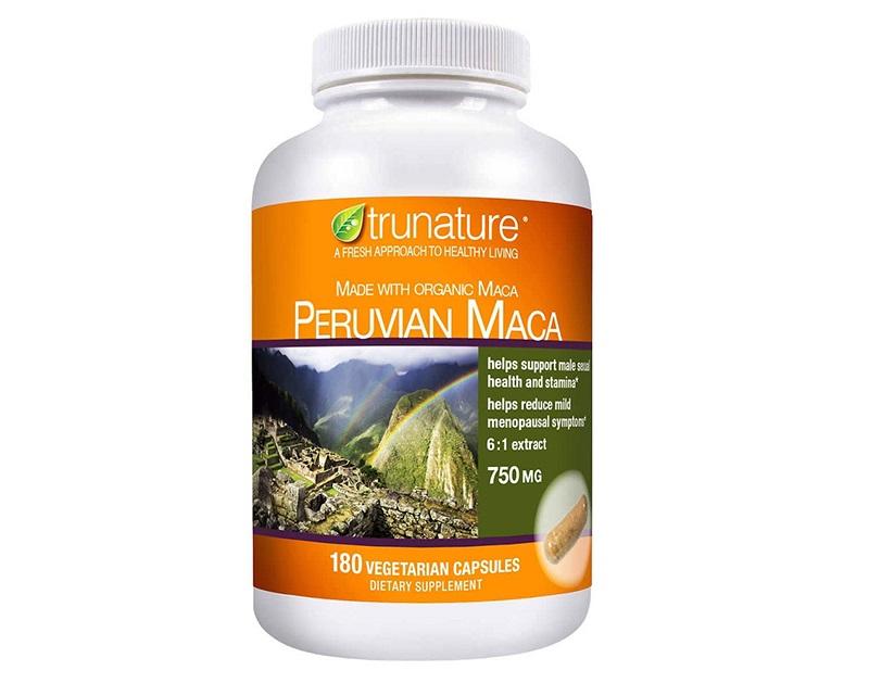 Viên uống Peruvian Maca 750mg có nhiều công dụng hữu ích