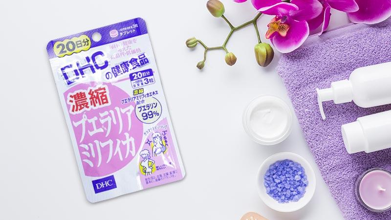 Viên uống DHC của Nhật Bản hỗ trợ cải thiện kích thước vòng 1