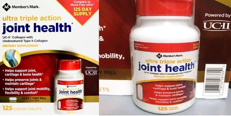 Ultra Triple Action Joint Health là sản phẩm của thương hiệu Member's Mark từ Mỹ