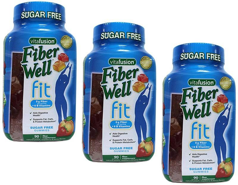 Nên sử dụng kẹo dẻo Fiber Well Fit đều đặn mỗi ngày