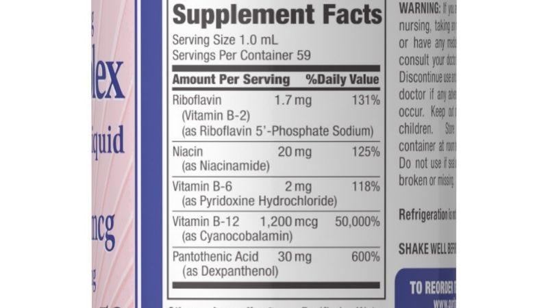 Các thành phần có trong vitamin B Complex
