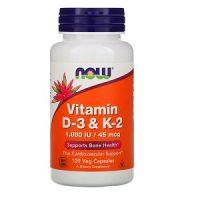 Viên uống Now Foods Vitamin D3 1000 IU 120 viên