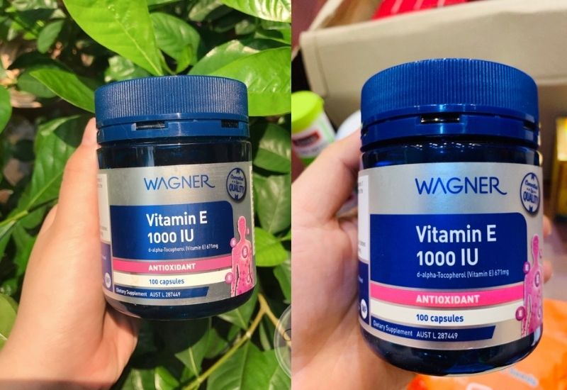 Viên uống Vitamin E 1000IU