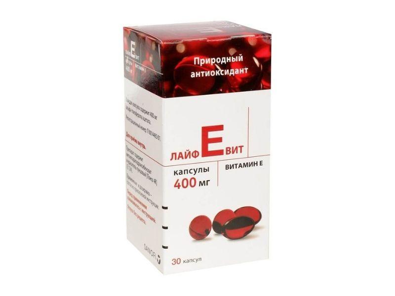 Vitamin E đỏ Mirrolla là sản phẩm nổi tiếng của Nga