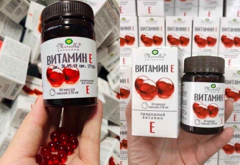 Vitamin E đỏ Nga 270mg rất tốt cho sức khỏe nhưng cần tránh tác dụng phụ