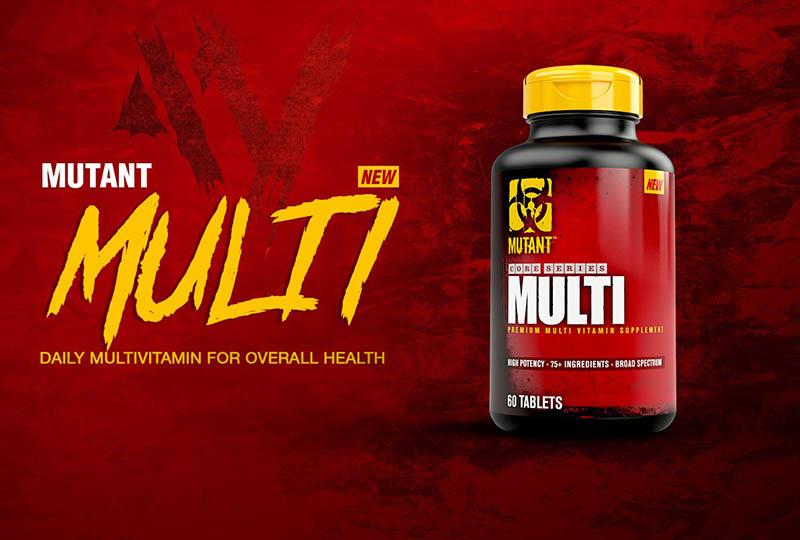 Mutant Multi Vitamin là vitamin tổng hợp cho người tập thể hình