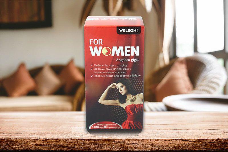 Viên uống Welson For Women 60 viên hộp đỏ