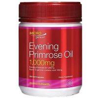 Viên uống tinh dầu hoa anh thảo Microgenics Evening Primrose Oil 1000mg hộp 200 viên