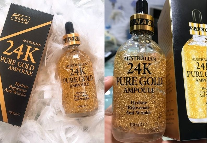 Tinh chất vàng Naro 24k Pure Gold Ampoule