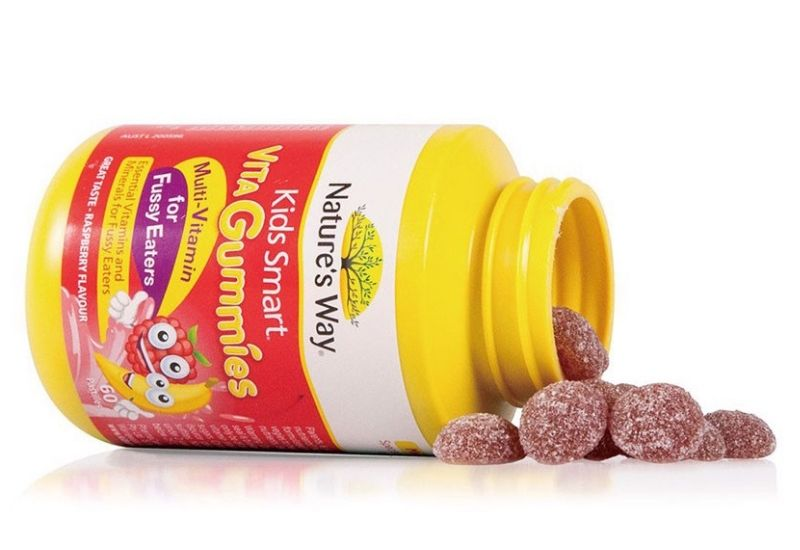 Dòng kẹo dẻo Natura Way Gummies Multi Vitamin for Fussy Eaters